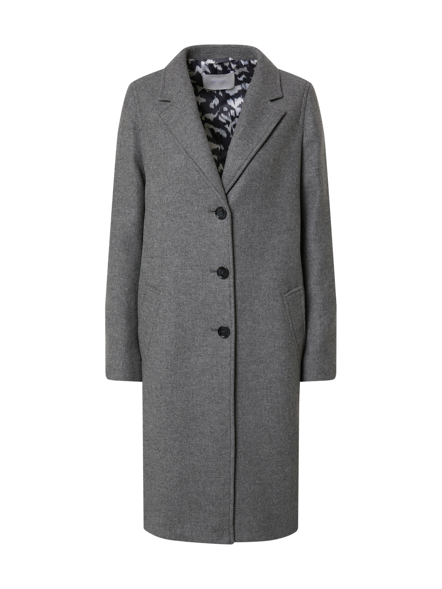 BOSS Demisezoninis paltas 'C_Coluise' pilka