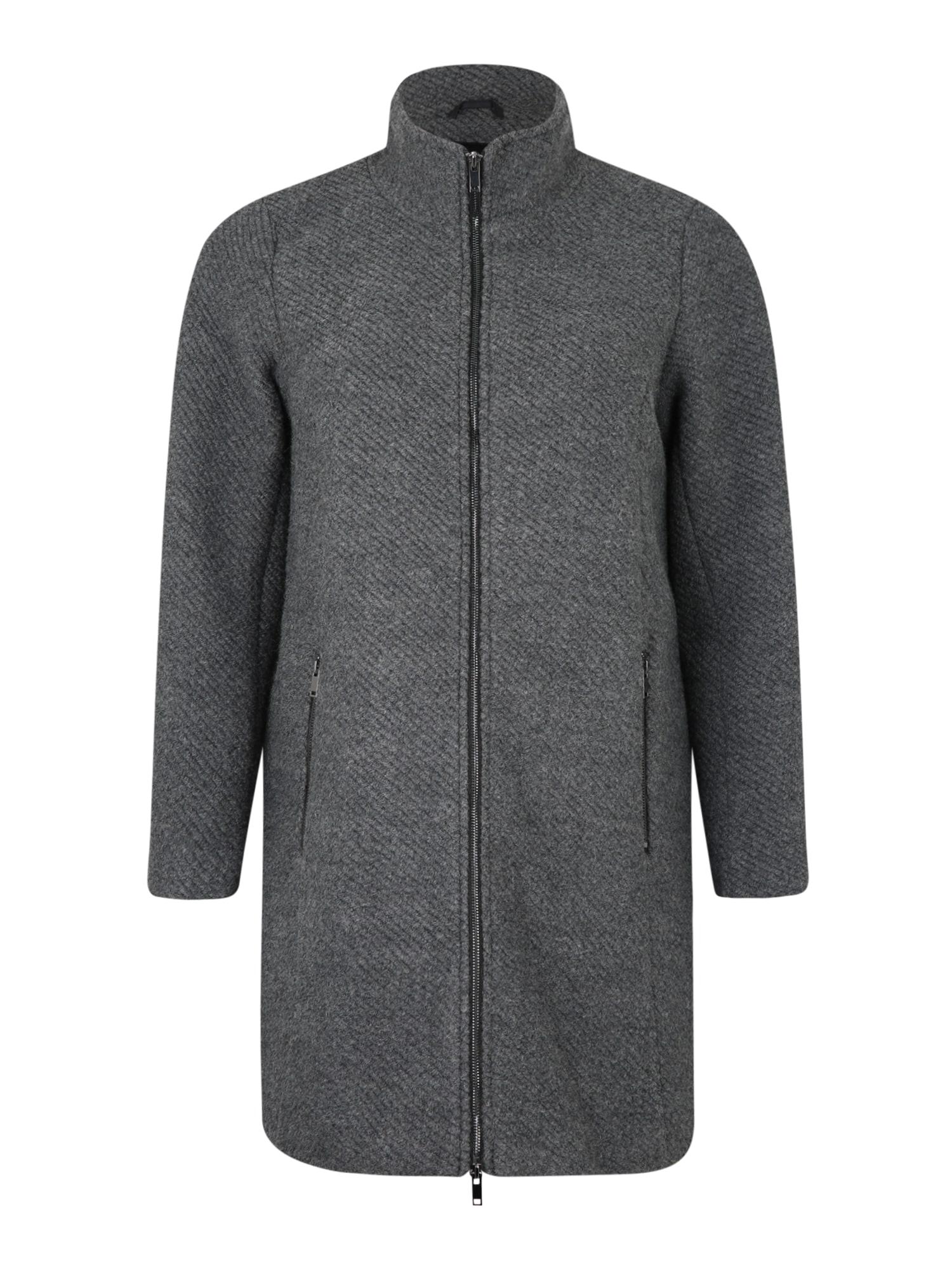 Zizzi Rudeninis-žieminis paltas 'CASARA' tamsiai pilka