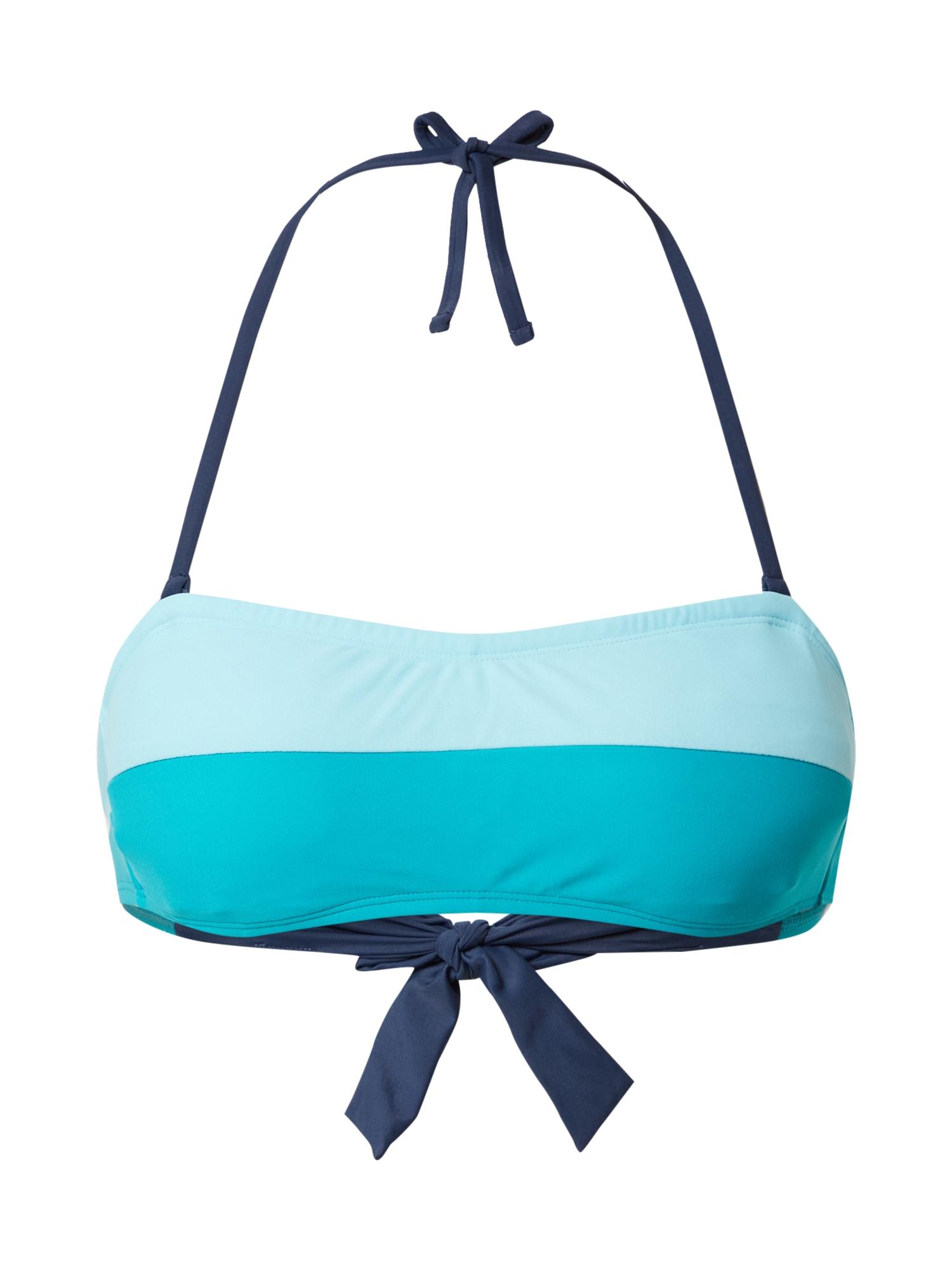 ESPRIT Bikini felső 'Ross Beach'  türkiz / világoskék / sötétkék