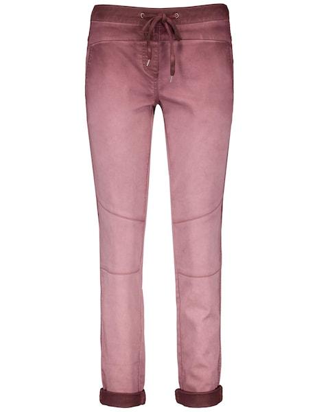 Hosen für Frauen - Hose › TAIFUN › weinrot  - Onlineshop ABOUT YOU