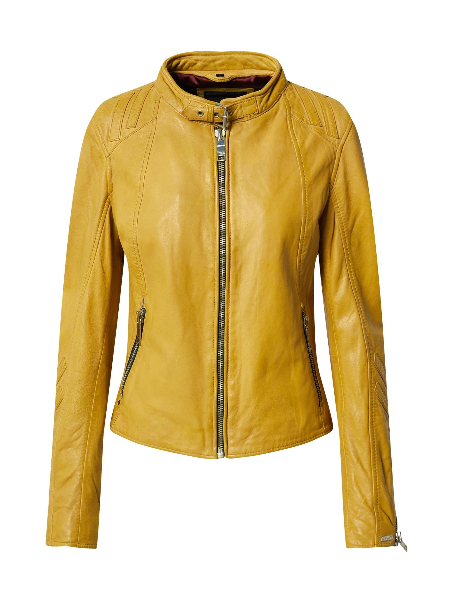 Maze Prechodná bunda 'Lindsay'  žlté