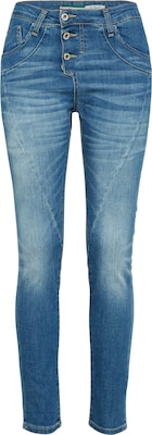 PLEASE Jeans mit Knopfleiste 'Trousers'