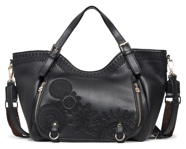 Shopper für Frauen - Desigual Shopper 'Dark Amber Rotterdam' schwarz  - Onlineshop ABOUT YOU