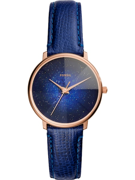 Uhren - Uhr › Fossil › dunkelblau rosegold  - Onlineshop ABOUT YOU