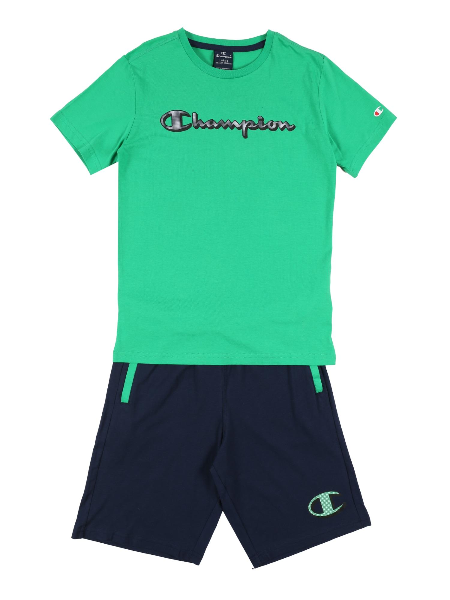 Champion Authentic Athletic Apparel Rinkinys žolės žalia