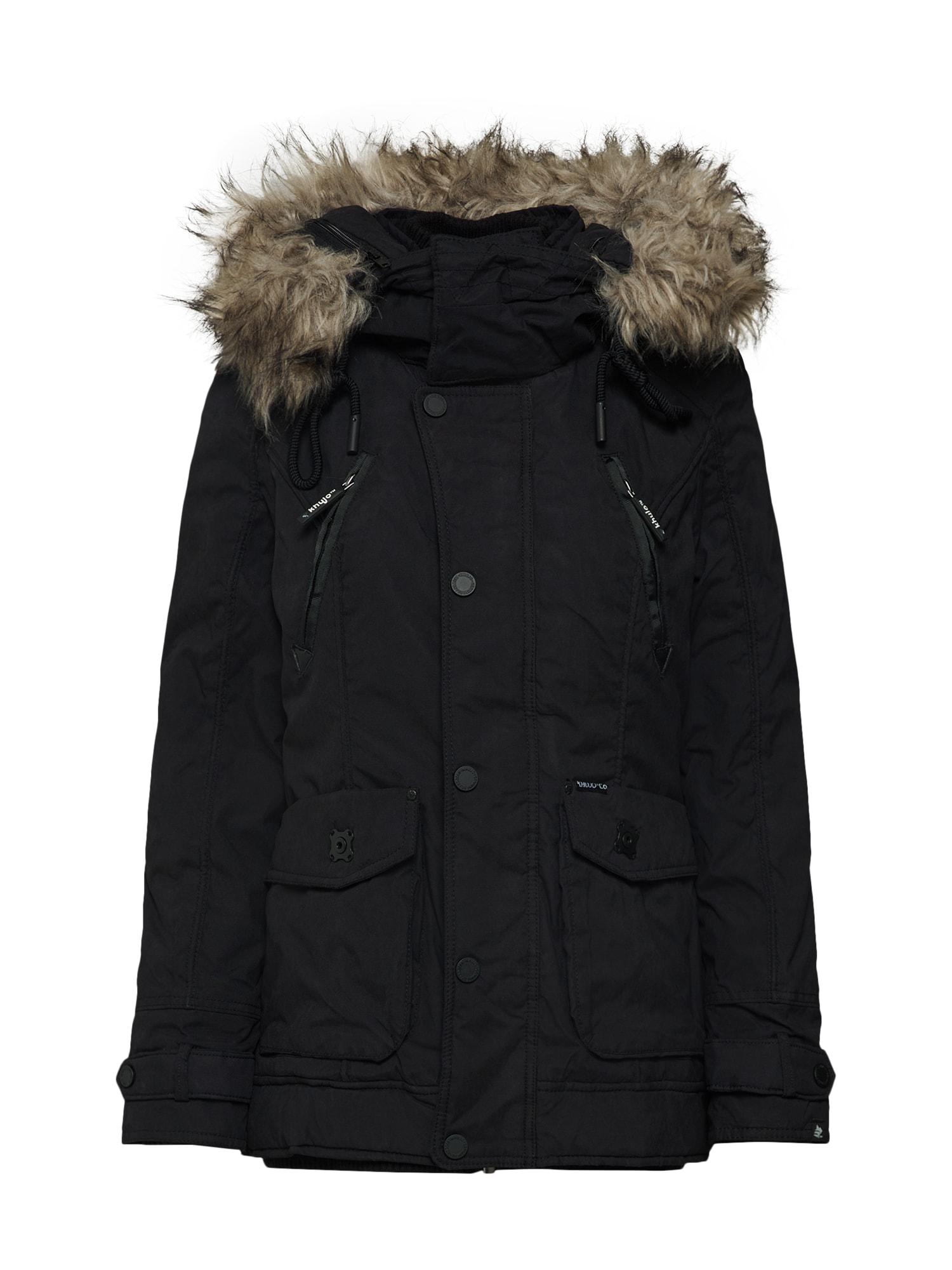 khujo Ilga žieminė striukė 'MONIFA' juoda