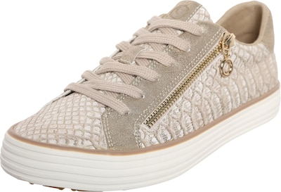 S.Oliver RED LABEL Metallic Sneaker mit Zipper