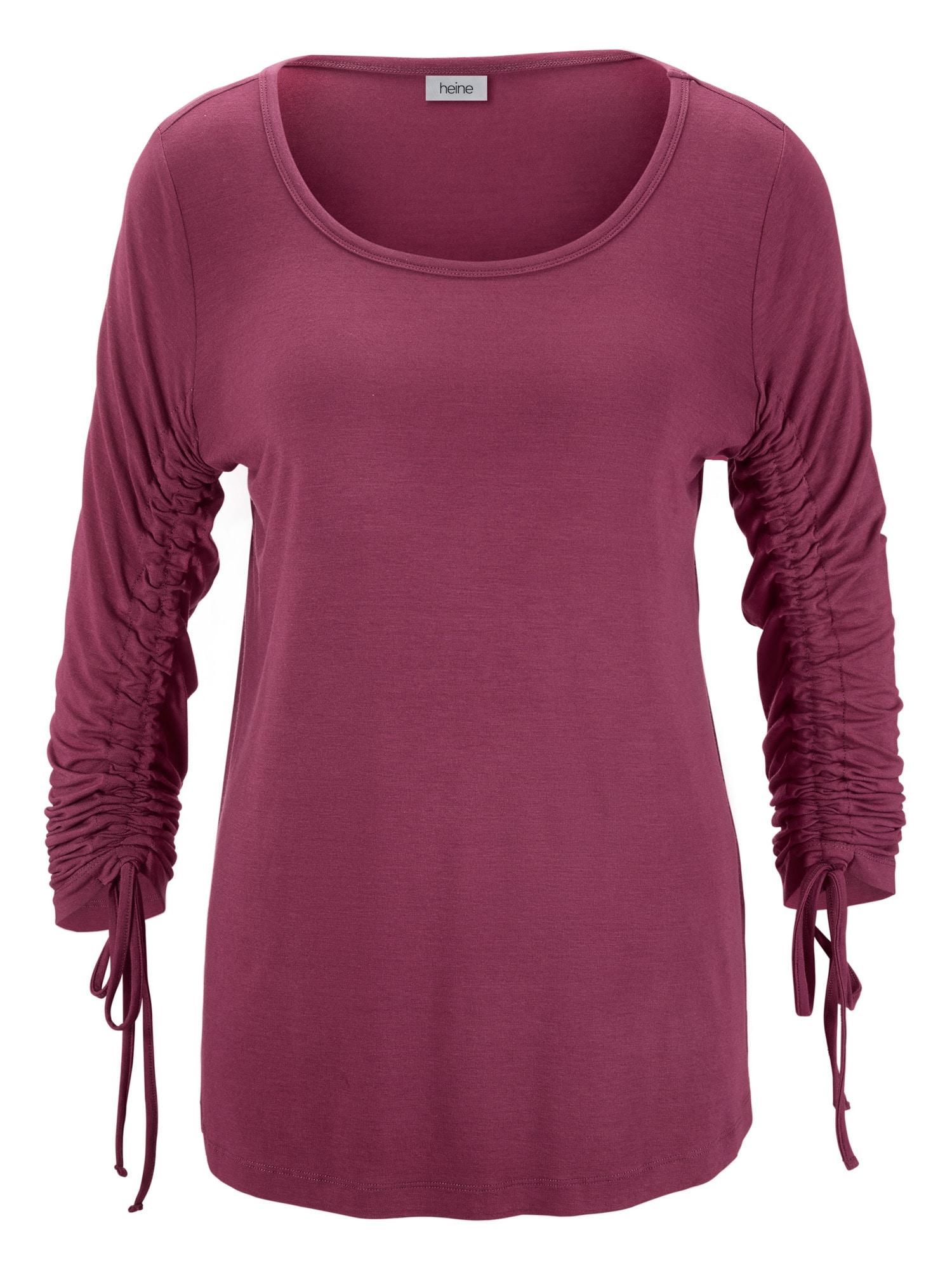 heine Marškinėliai uogų spalva