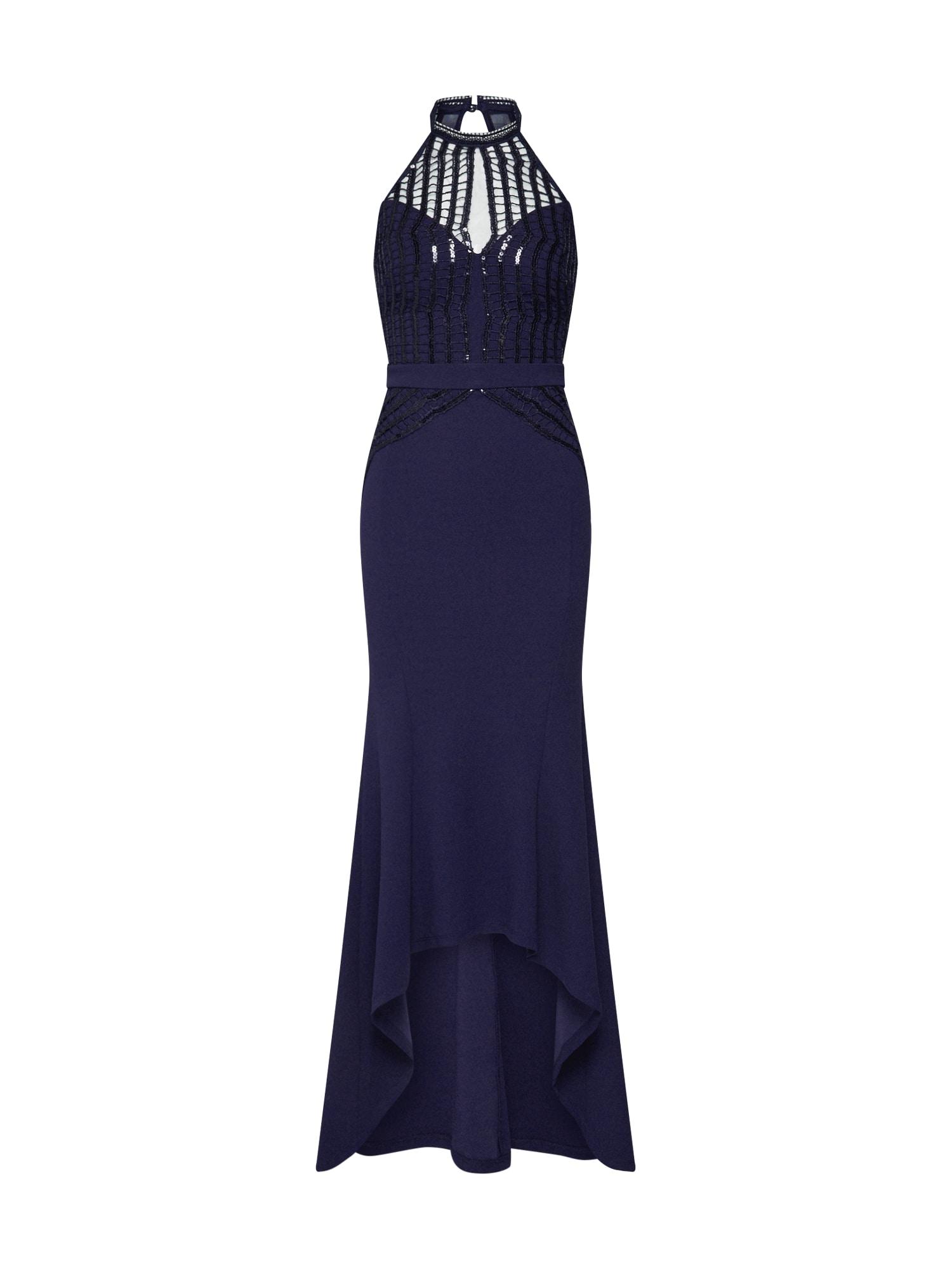 Společenské šaty námořnická modř Lipsy