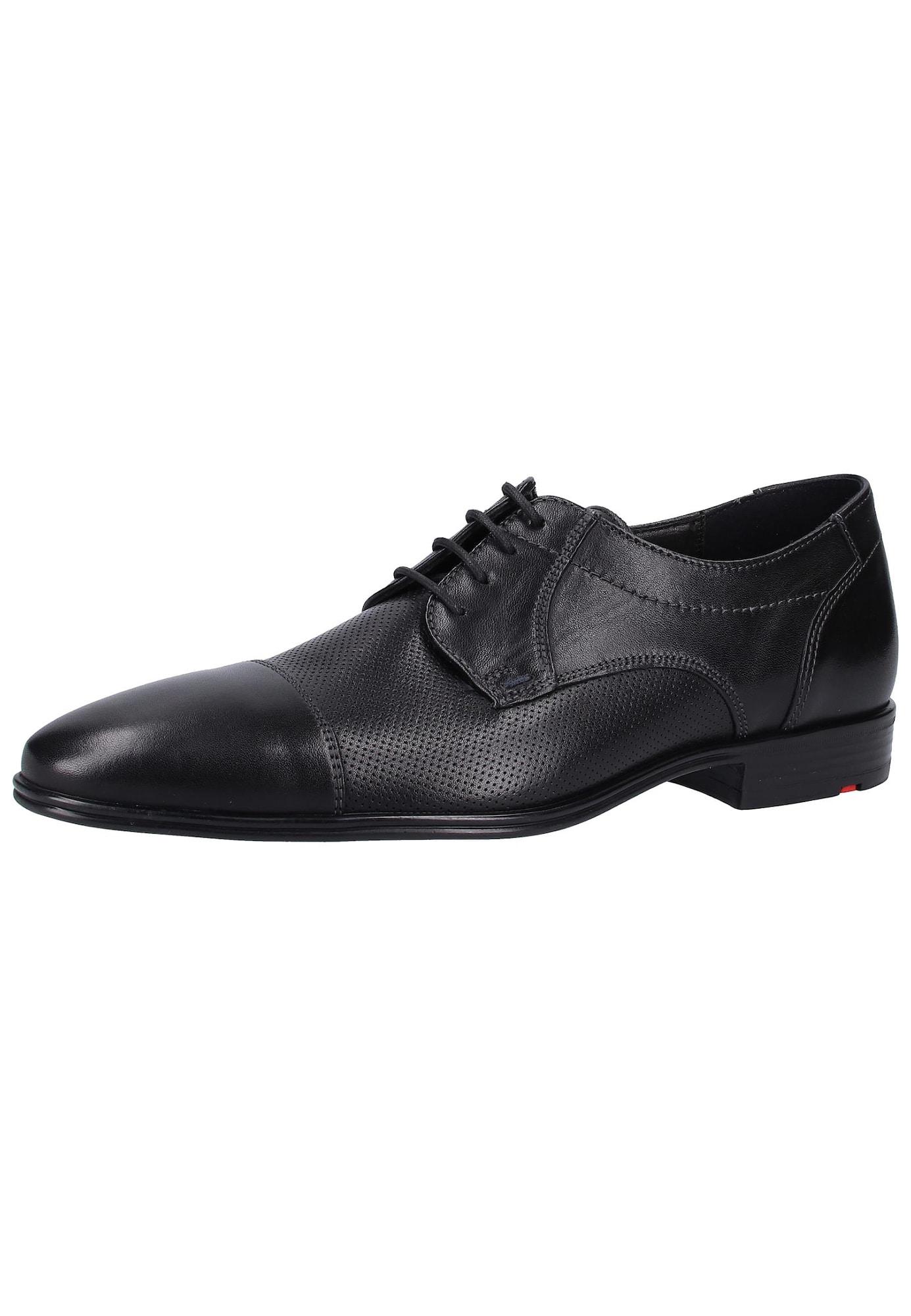 Šněrovací boty Oskar černá LLOYD