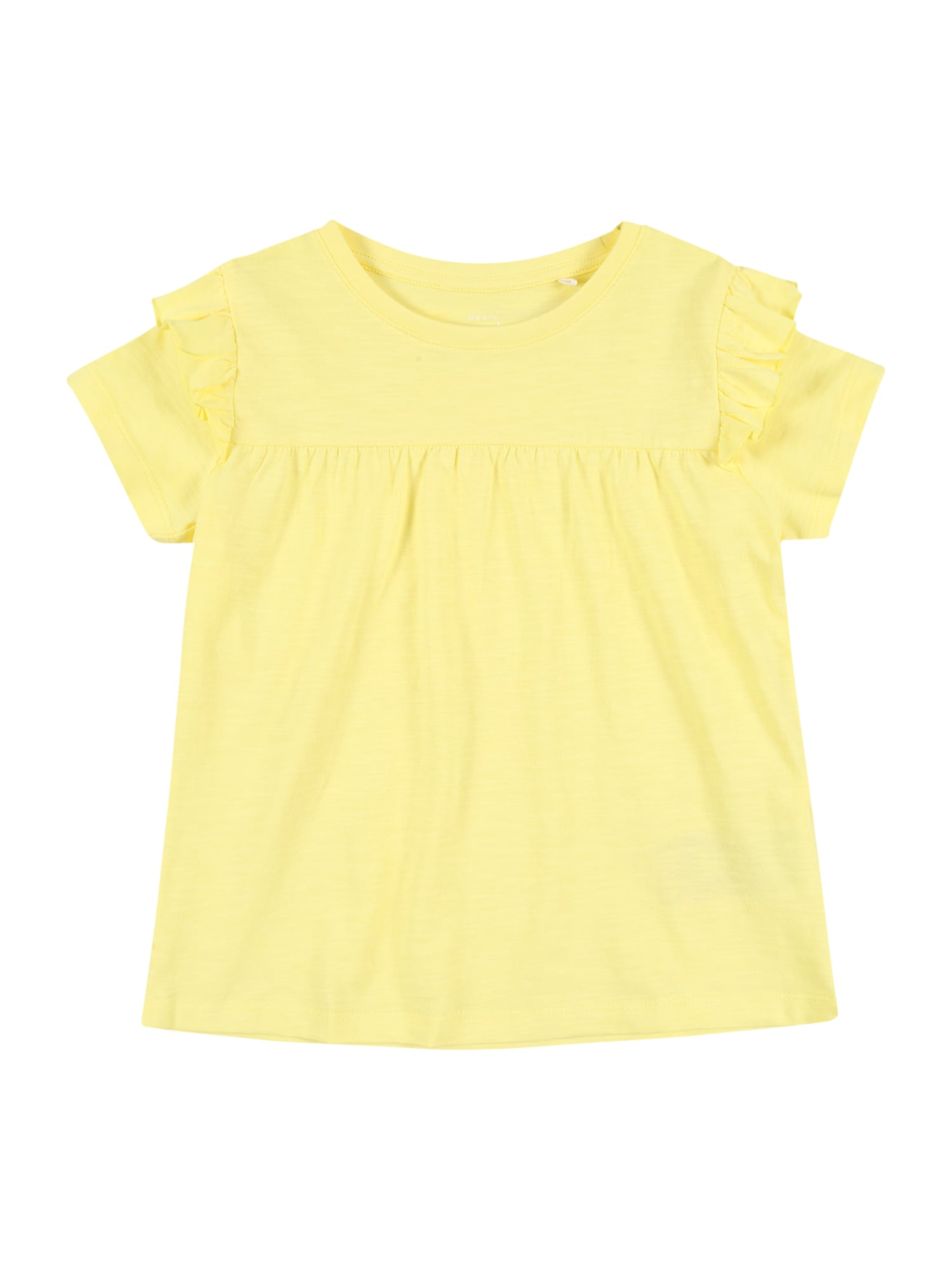 NAME IT Marškinėliai 'NMFVAVINA SS TOP H' geltona