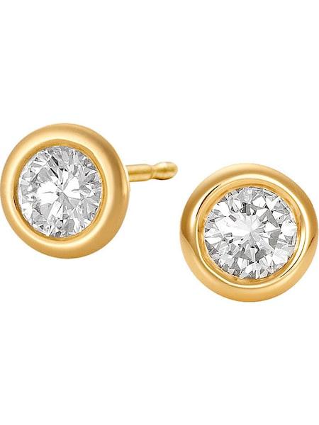 Ohrringe für Frauen - CHRIST Ohrstecker '82264671' gold silber  - Onlineshop ABOUT YOU