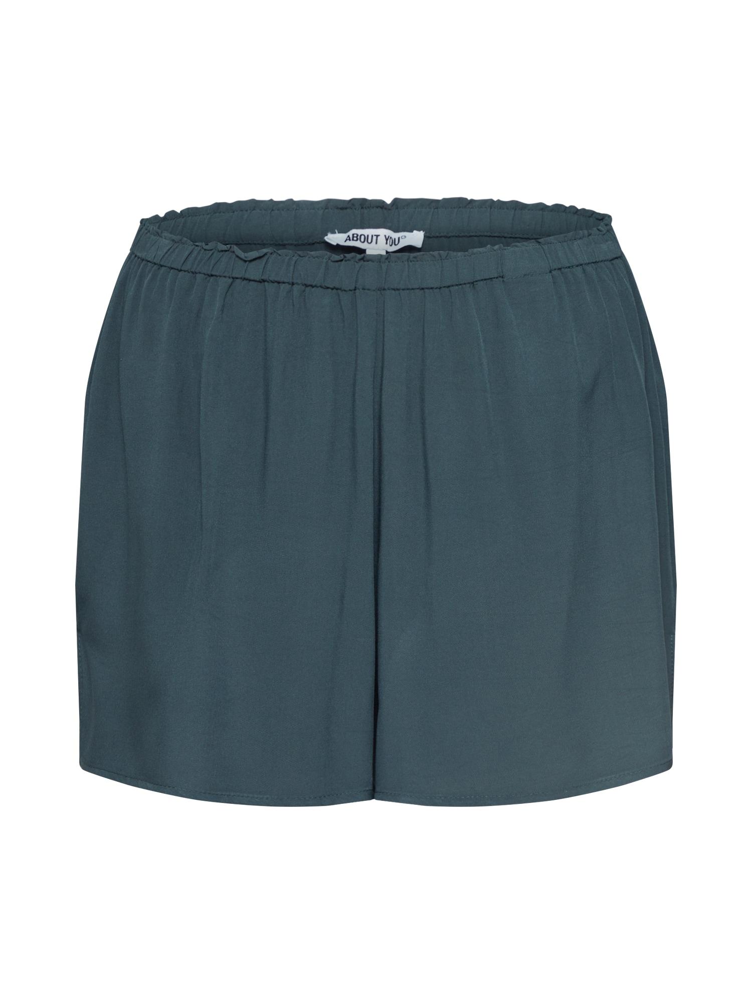 ABOUT YOU Pižaminės kelnės 'Viviana' rusvai žalia