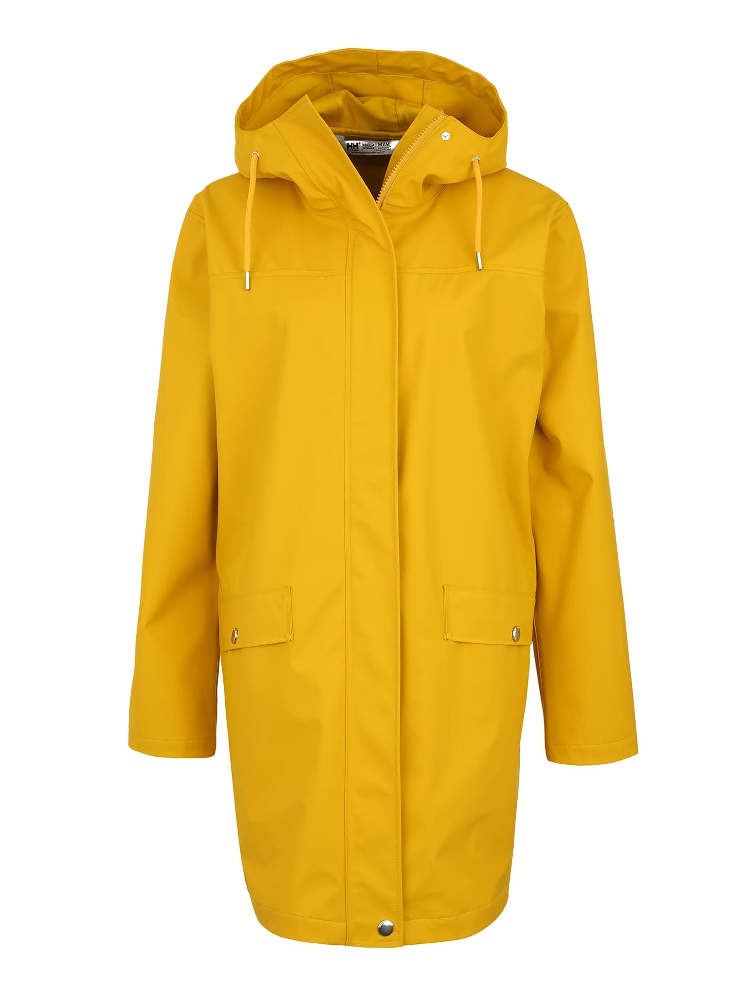 Outdoorový kabát Moss Rain žlutá HELLY HANSEN