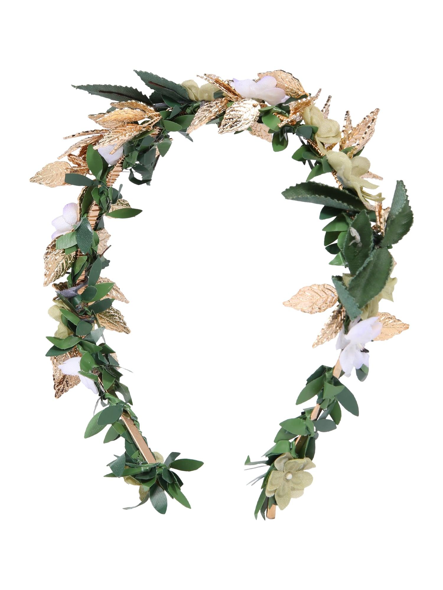 Šperky do vlasů BridalBridesmaid Style světle béžová zelená We Are Flowergirls
