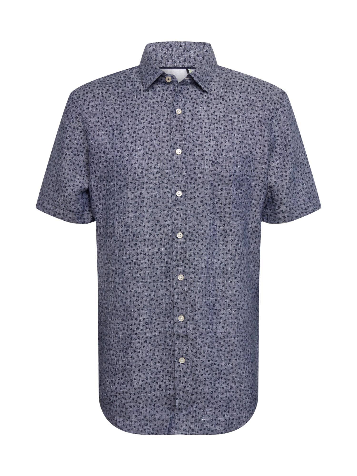 BRAX Dalykiniai marškiniai 'Kenny' tamsiai mėlyna