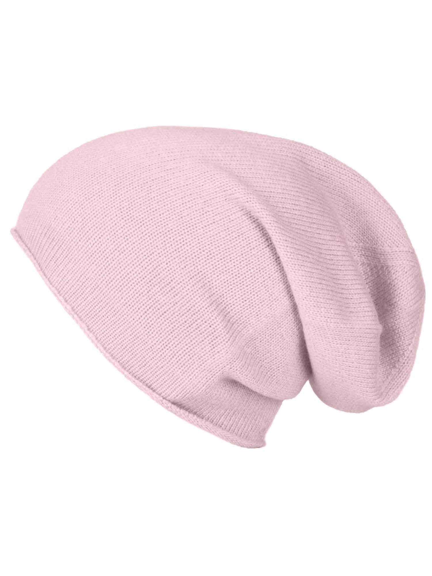 ABOUT YOU Megzta kepurė 'Merle' rožinė / rožių spalva