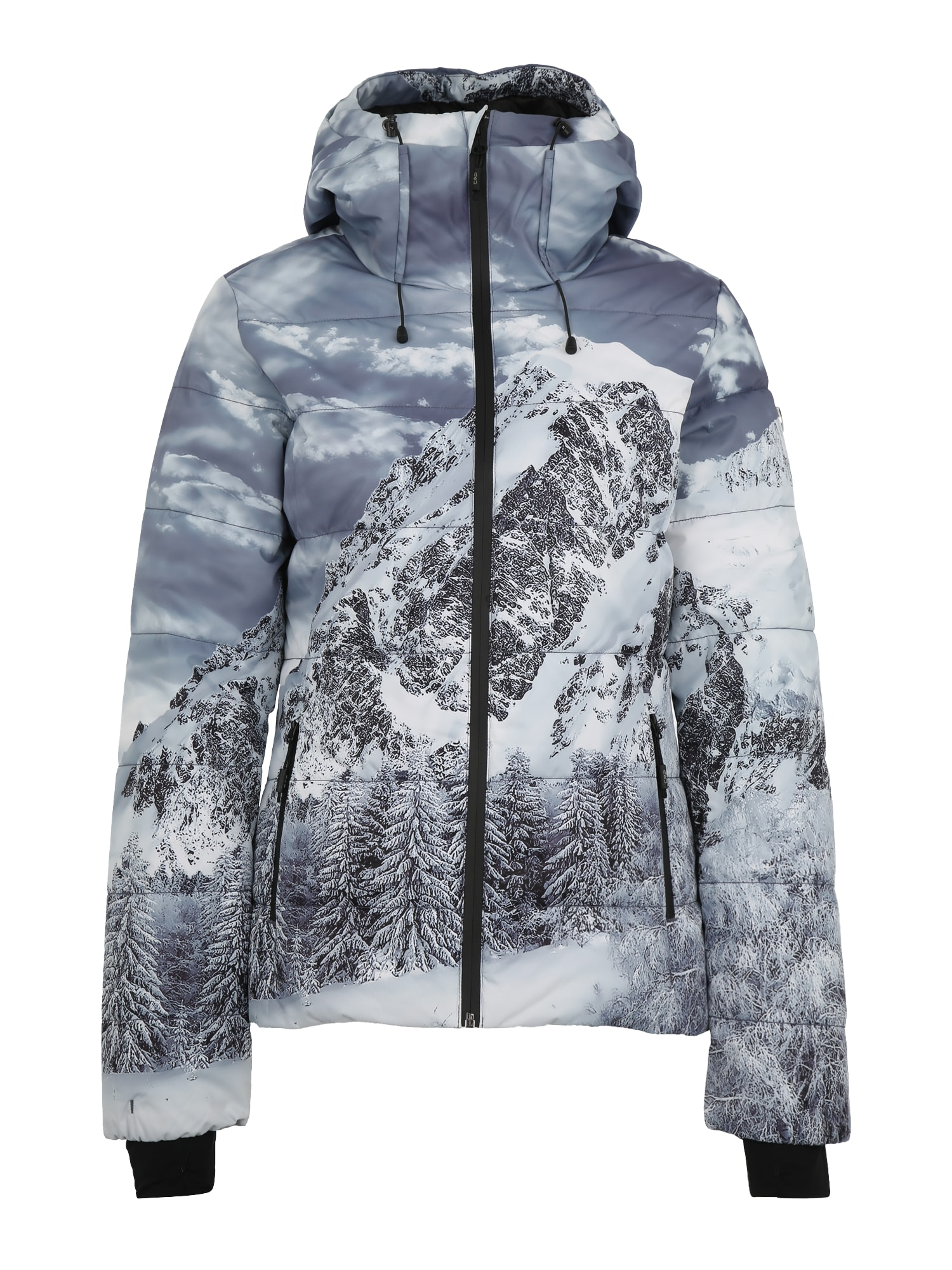 Outdoorová bunda tmavě šedá CMP