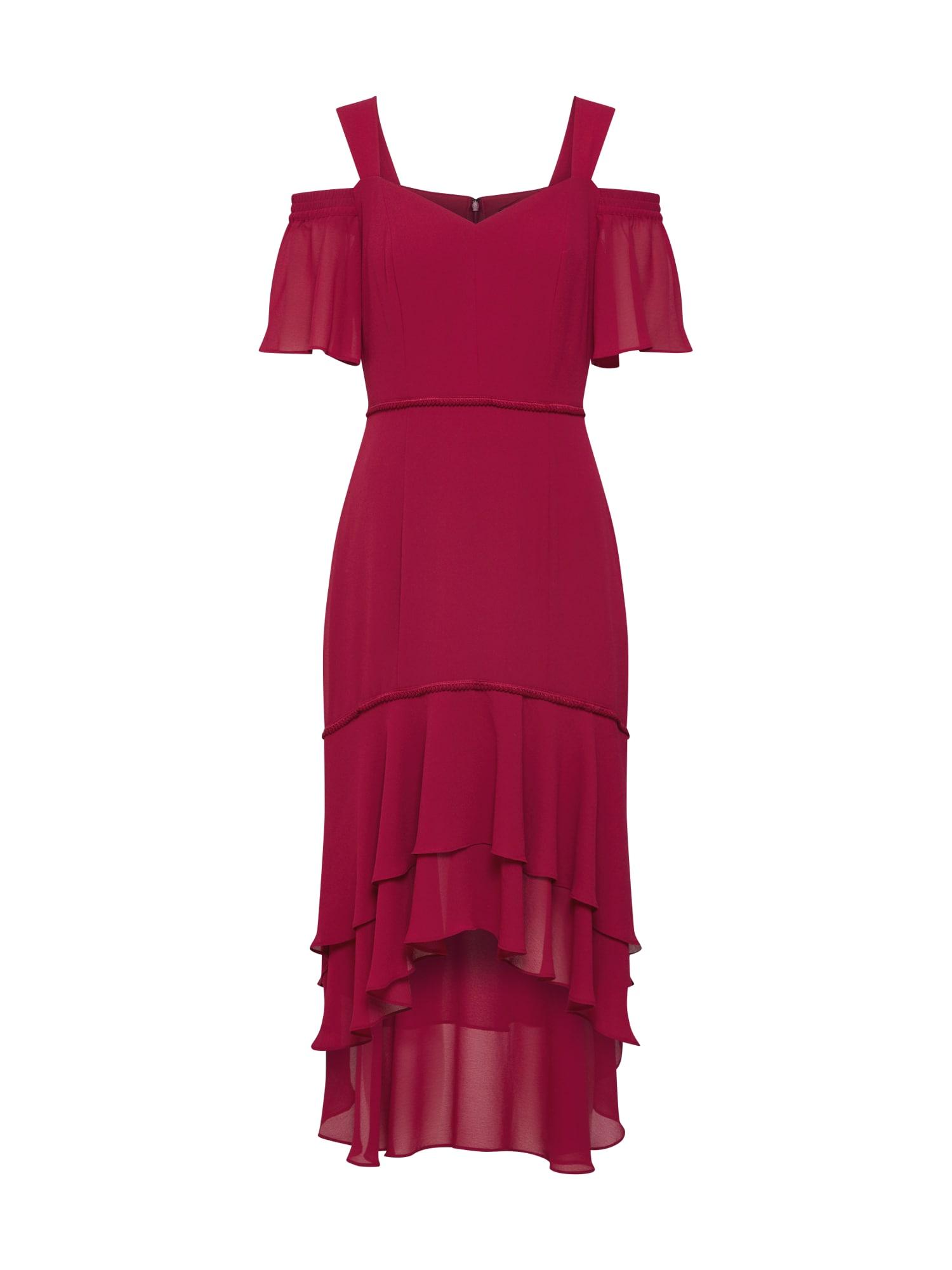 s.Oliver BLACK LABEL Kokteilinė suknelė fuksijų spalva