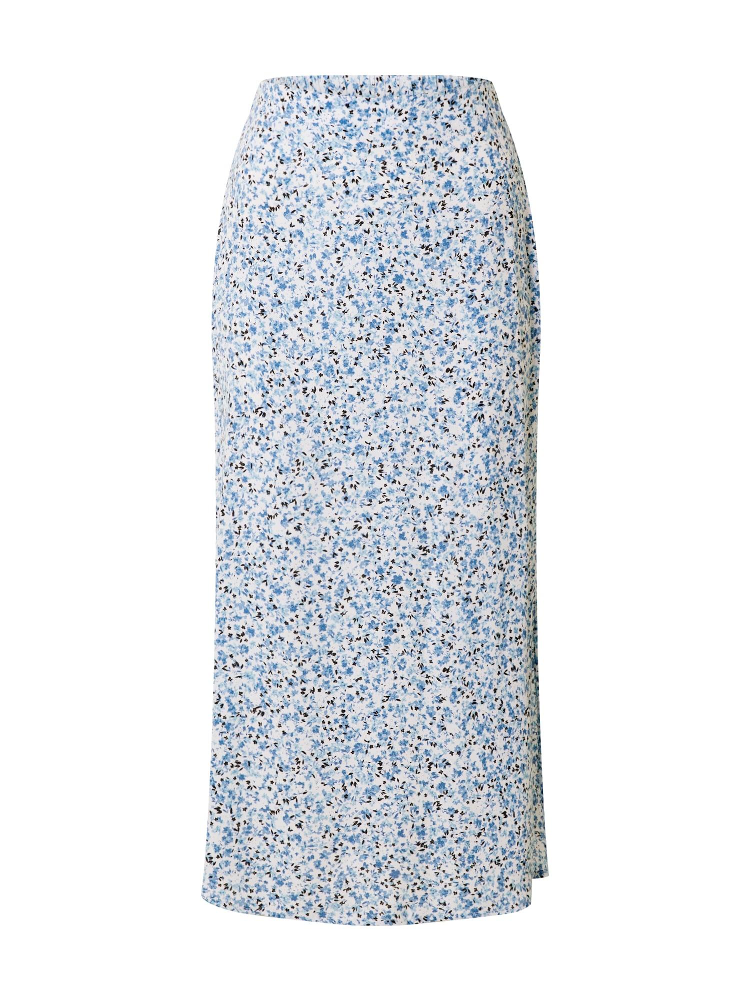 Cotton On Sukňa '90Ss'  biela / modré