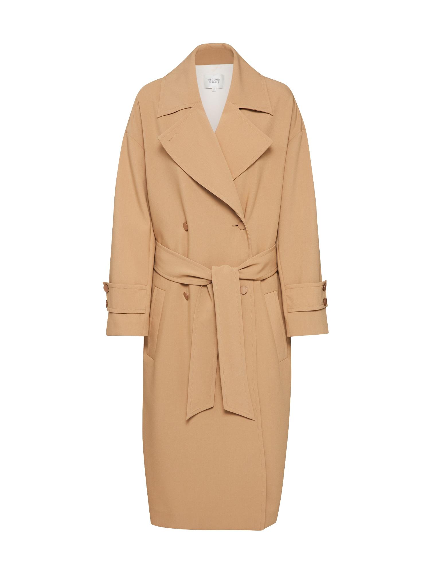 SECOND FEMALE Rudeninis-žieminis paltas 'Silvia' smėlio