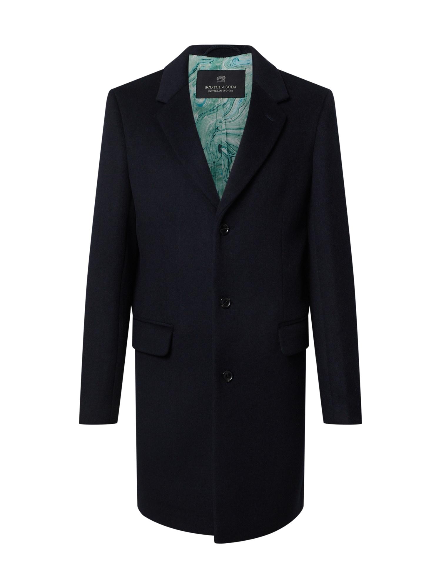 SCOTCH & SODA Přechodný kabát  tmavě modrá
