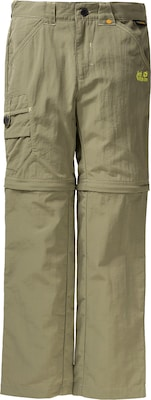 JACK WOLFSKIN Kinder Zip Off Outdoorhose 'SAFARI'