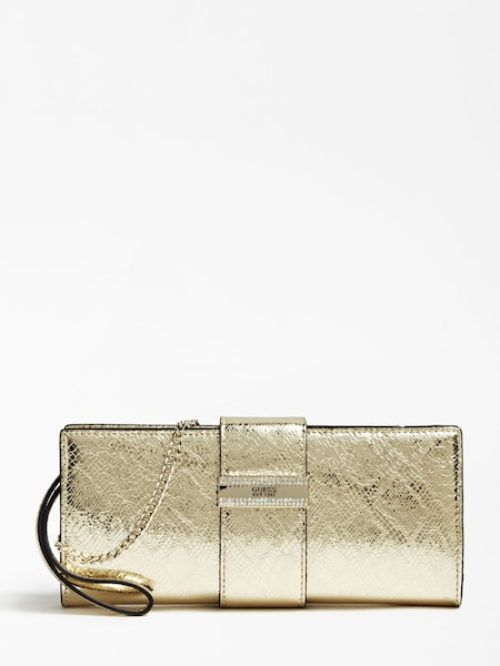 Clutches für Frauen - GUESS Clutch gold  - Onlineshop ABOUT YOU