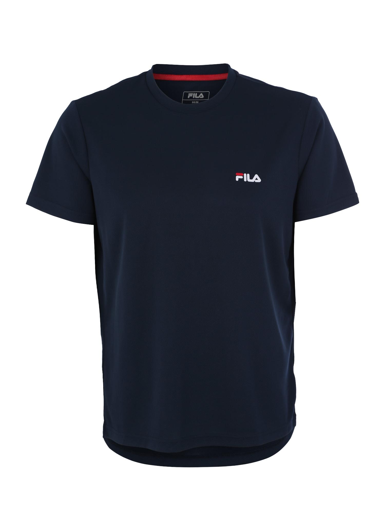 FILA Funkční tričko  kobaltová modř