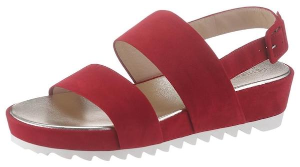 Sandalen für Frauen - PETER KAISER Sandale 'Aloisa' rot  - Onlineshop ABOUT YOU