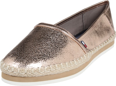 HILFIGER DENIM Loafer in Metallic-Optik