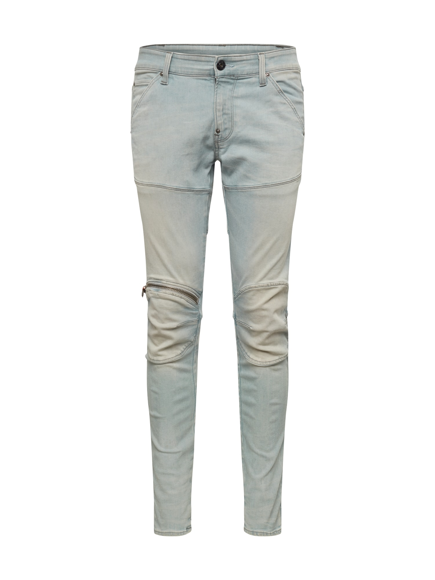 G-Star RAW Džinsai '5620 3D Zip Knee Super Slim' šviesiai mėlyna / tamsiai (džinso) mėlyna