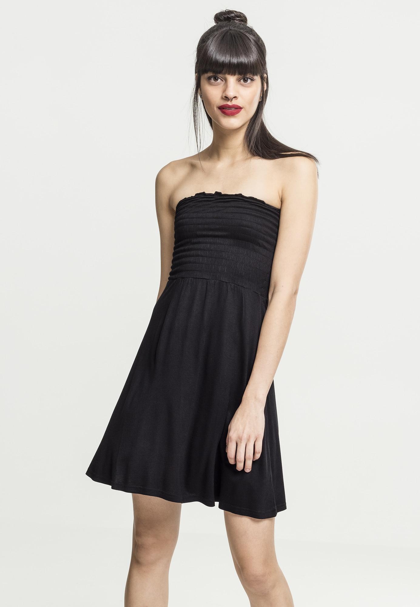 Urban Classics Kleid schwarz - Schwarzes Kleid