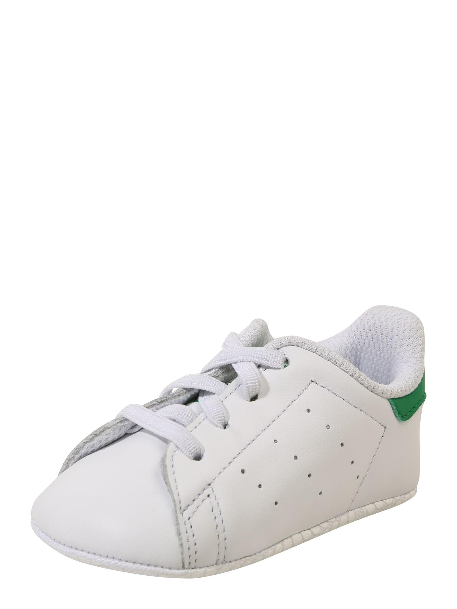 ADIDAS ORIGINALS Sportbačiai žalia / balta