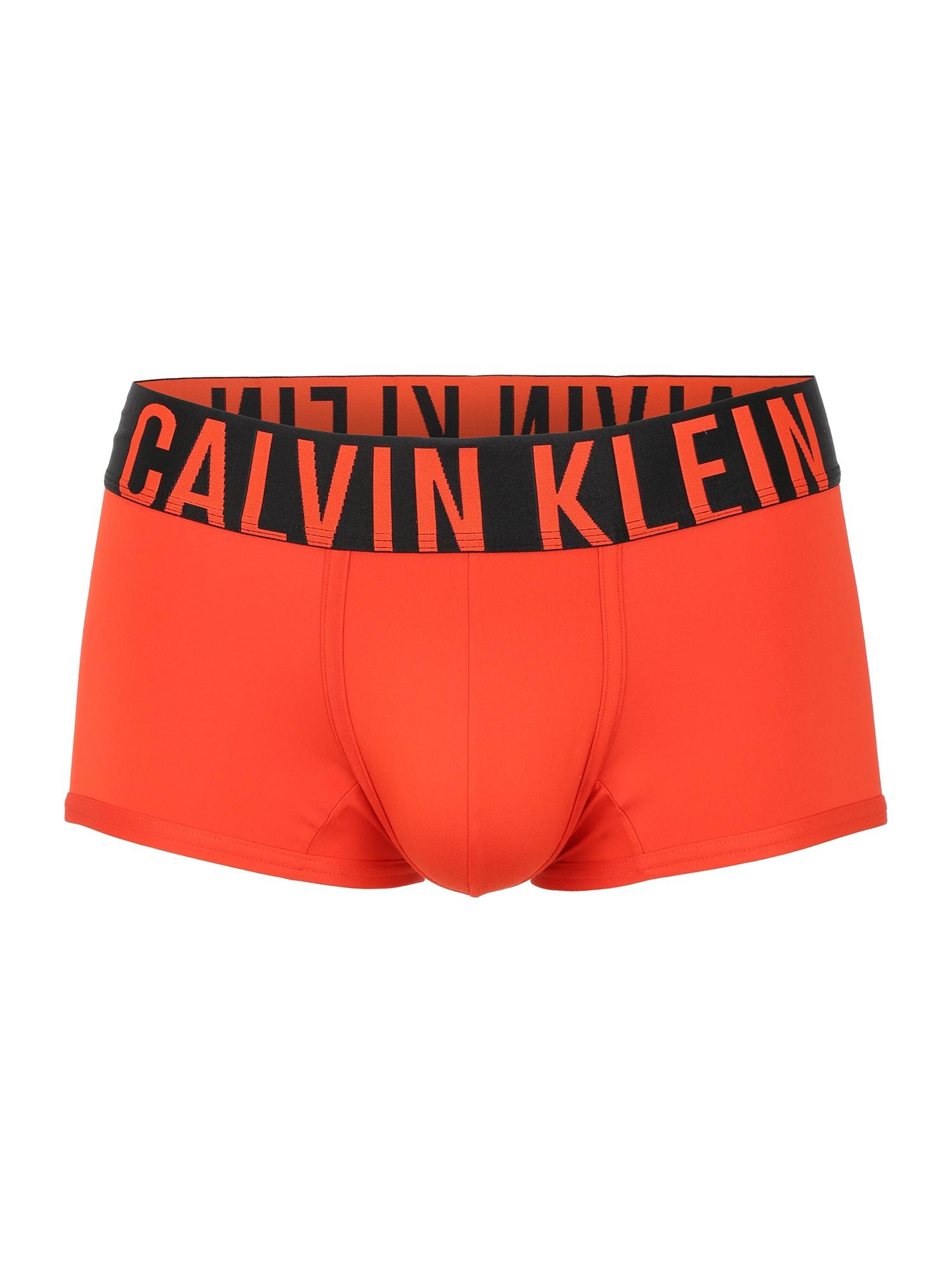 Calvin Klein Underwear Boxer trumpikės oranžinė-raudona