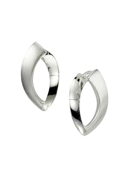 Ohrringe für Frauen - FIRETTI Ohrschmuck Paar Creolen silber  - Onlineshop ABOUT YOU