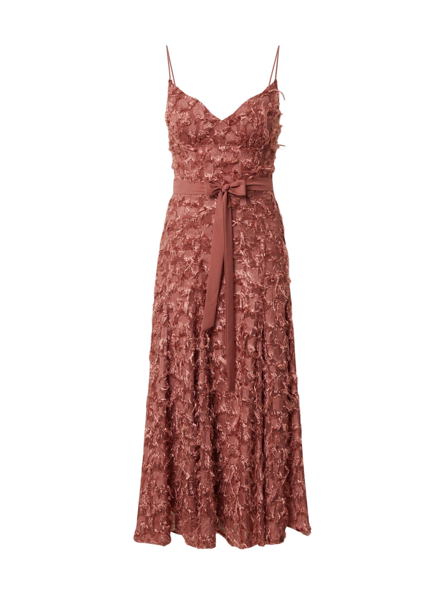 Forever Unique Kokteilinė suknelė ruda
