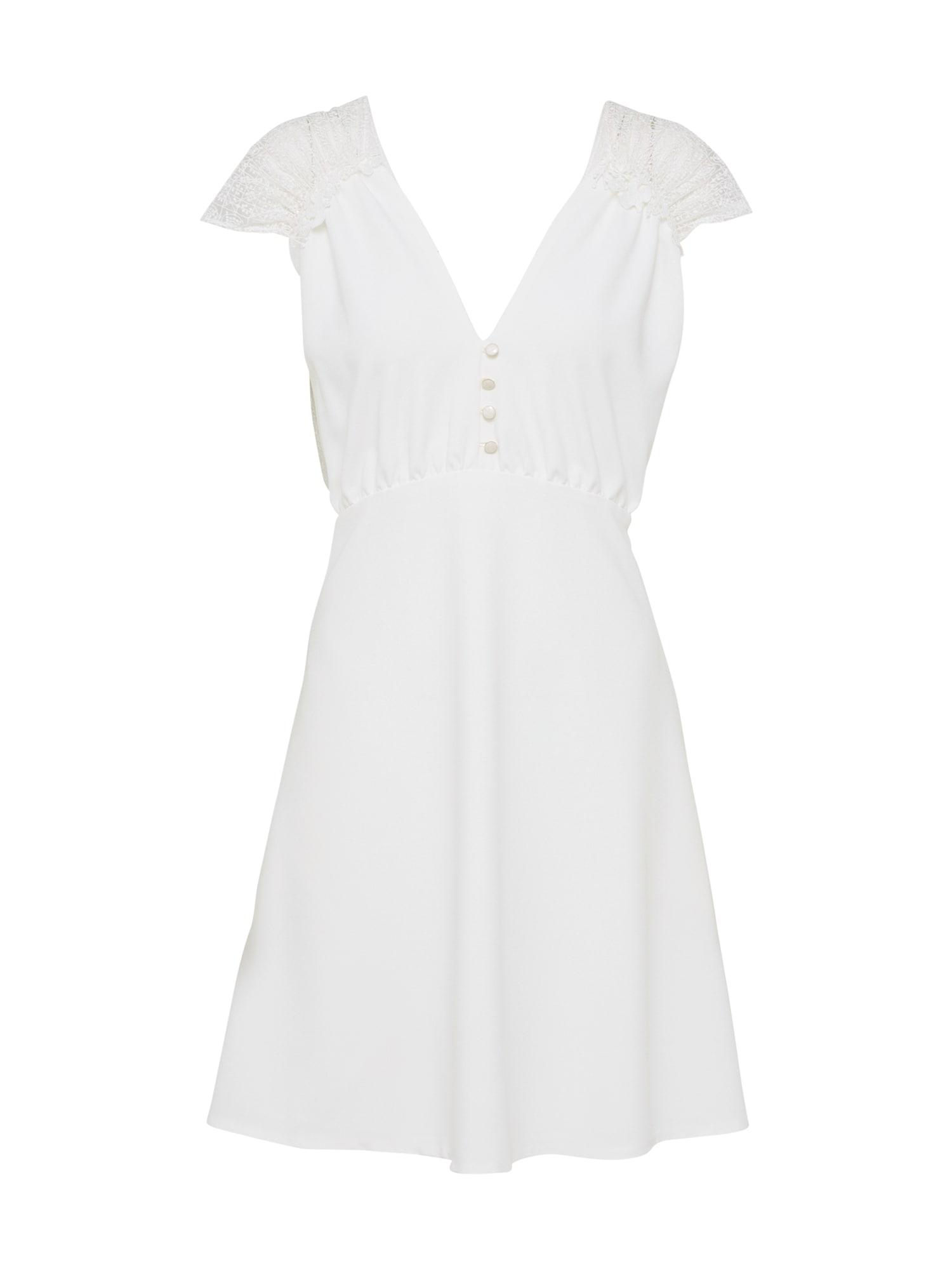 sessun Šaty  biela