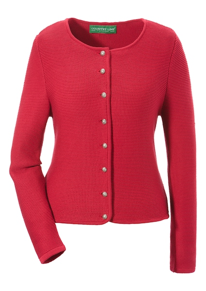 Jacken - Strickjacke › COUNTRY LINE › rot  - Onlineshop ABOUT YOU