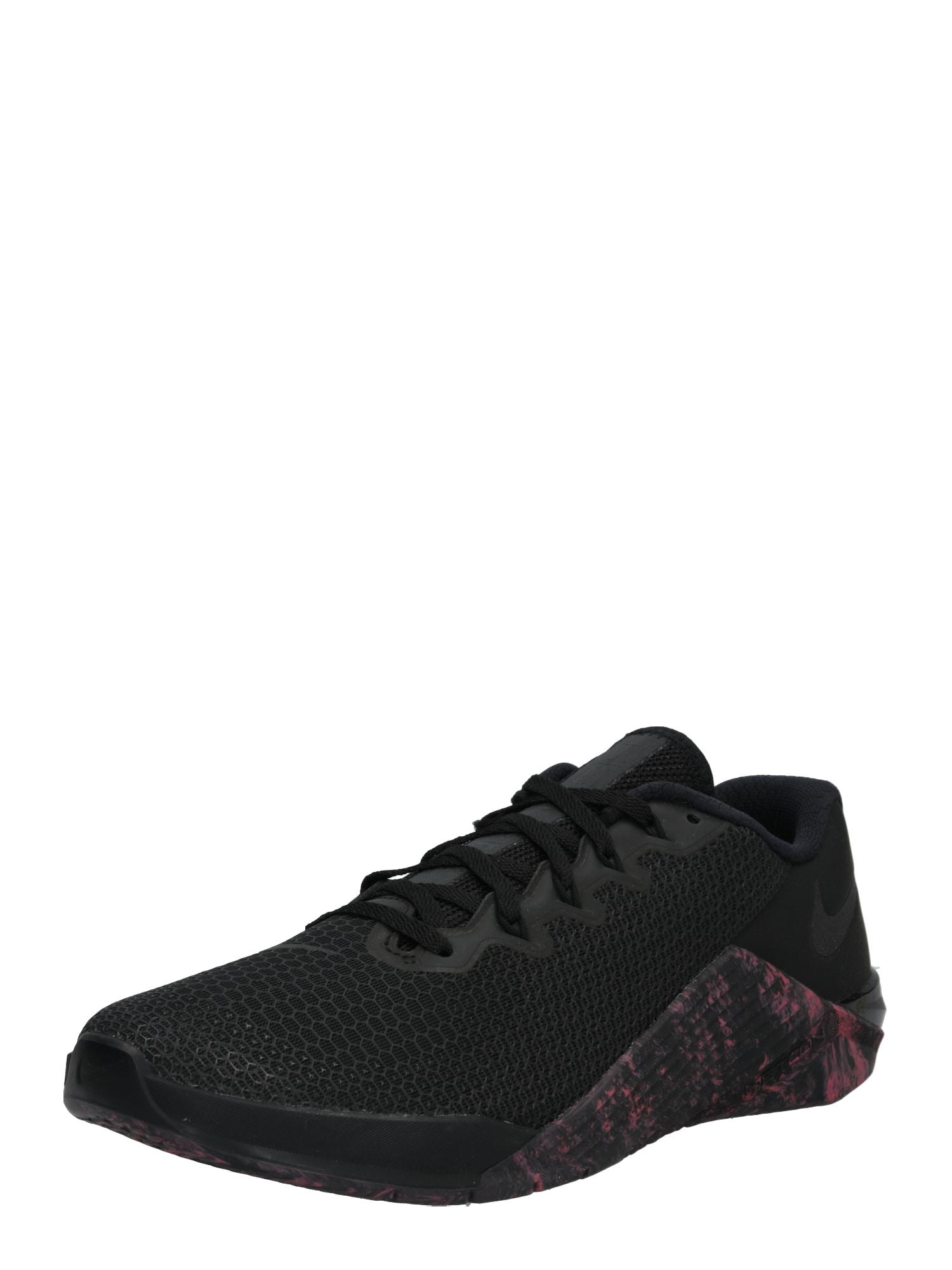 Sportovní boty METCON 5 černá NIKE
