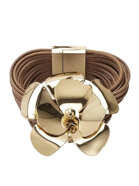 Armbaender für Frauen - Heine Armband braun gold  - Onlineshop ABOUT YOU