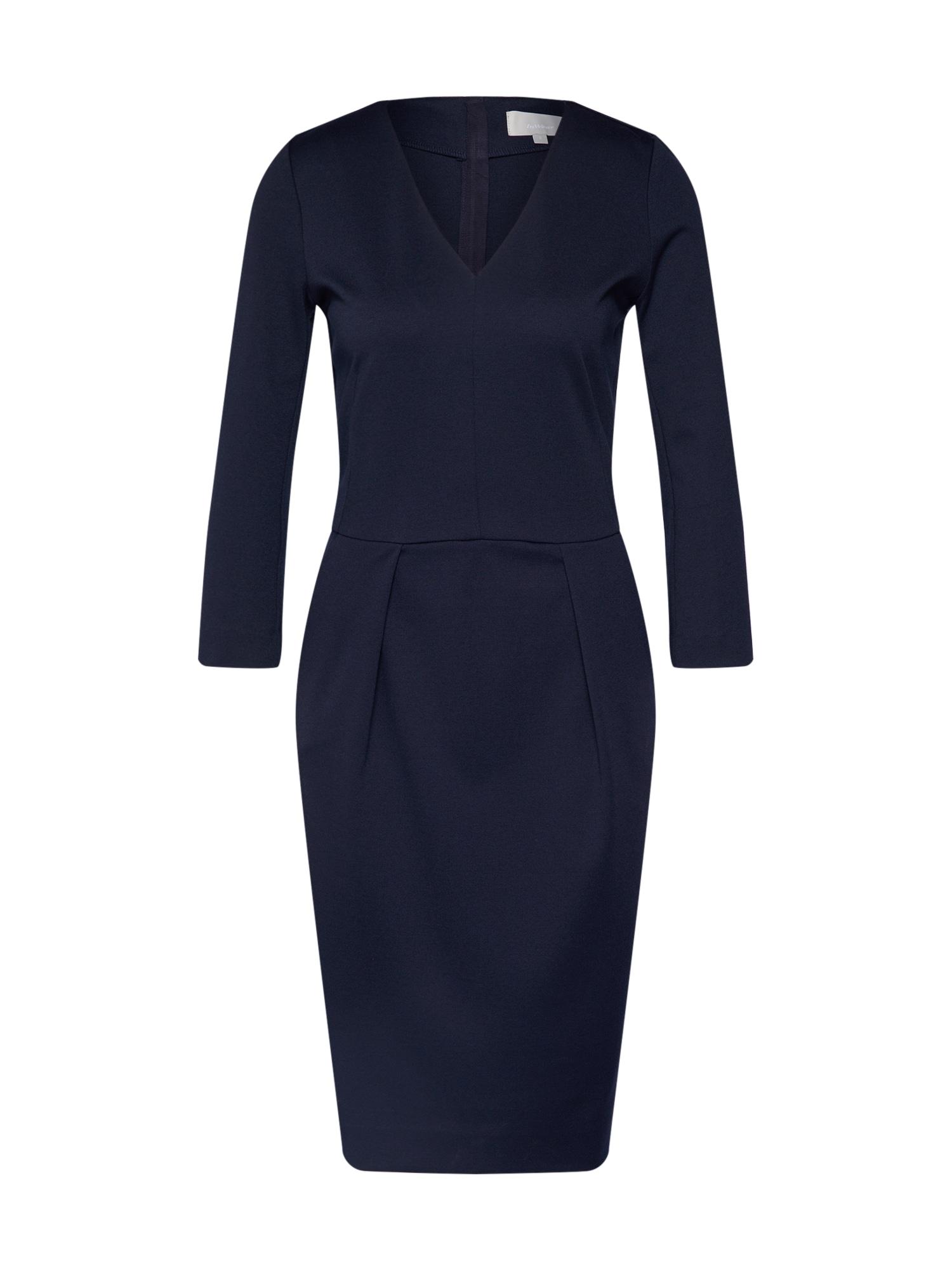 InWear Suknelė 'Nira' tamsiai mėlyna jūros spalva