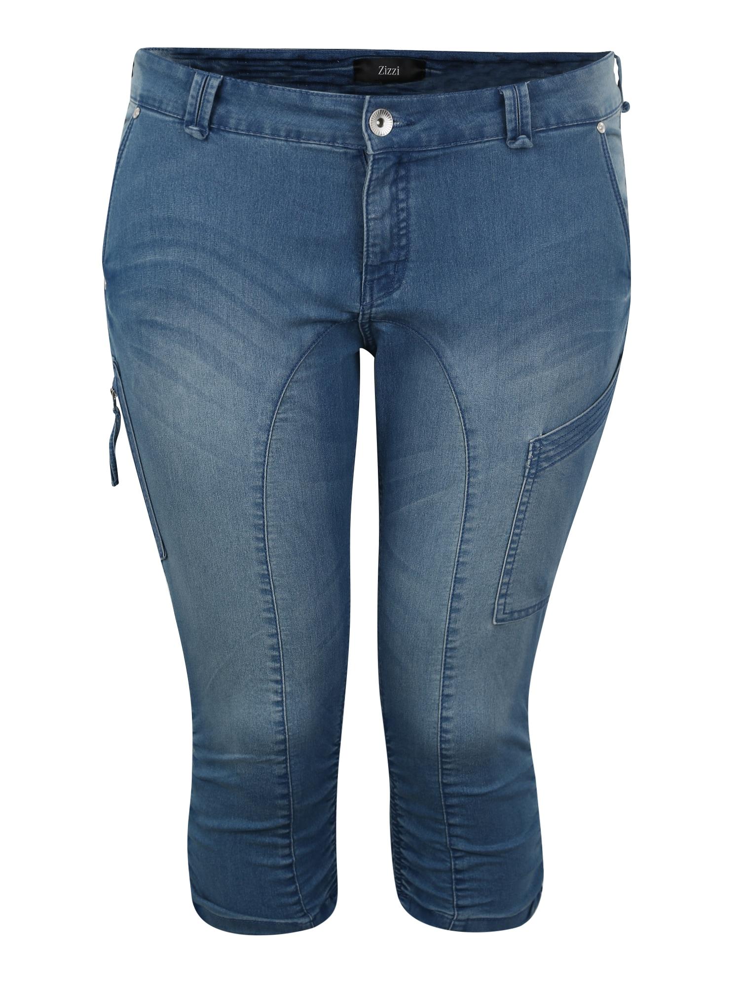 Zizzi Kelnės tamsiai (džinso) mėlyna