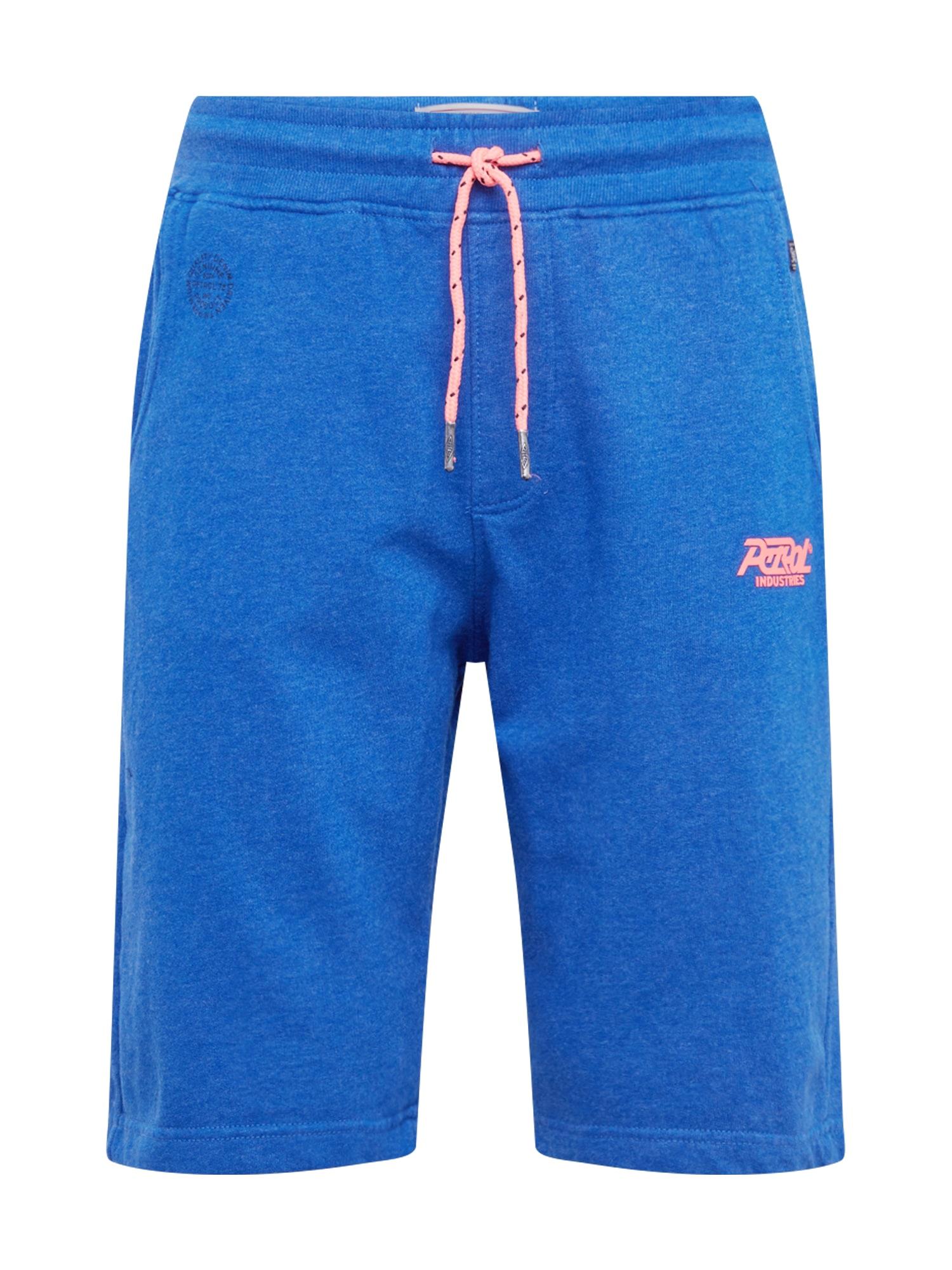 Kalhoty modrá oranžová Petrol Industries