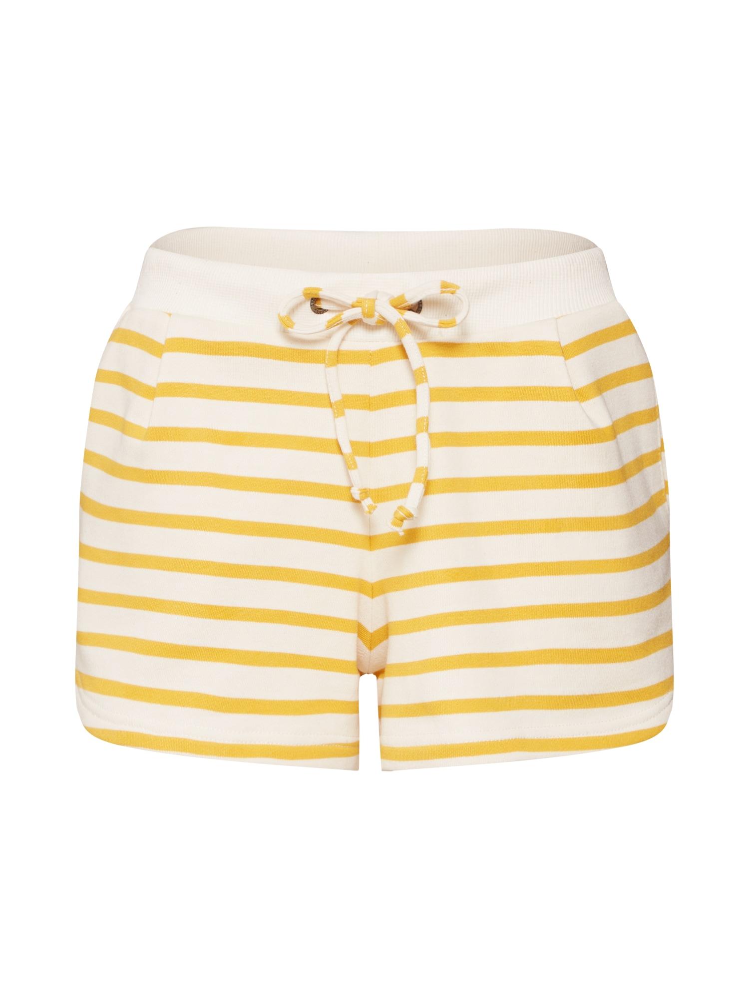 Kalhoty žlutá offwhite Sublevel