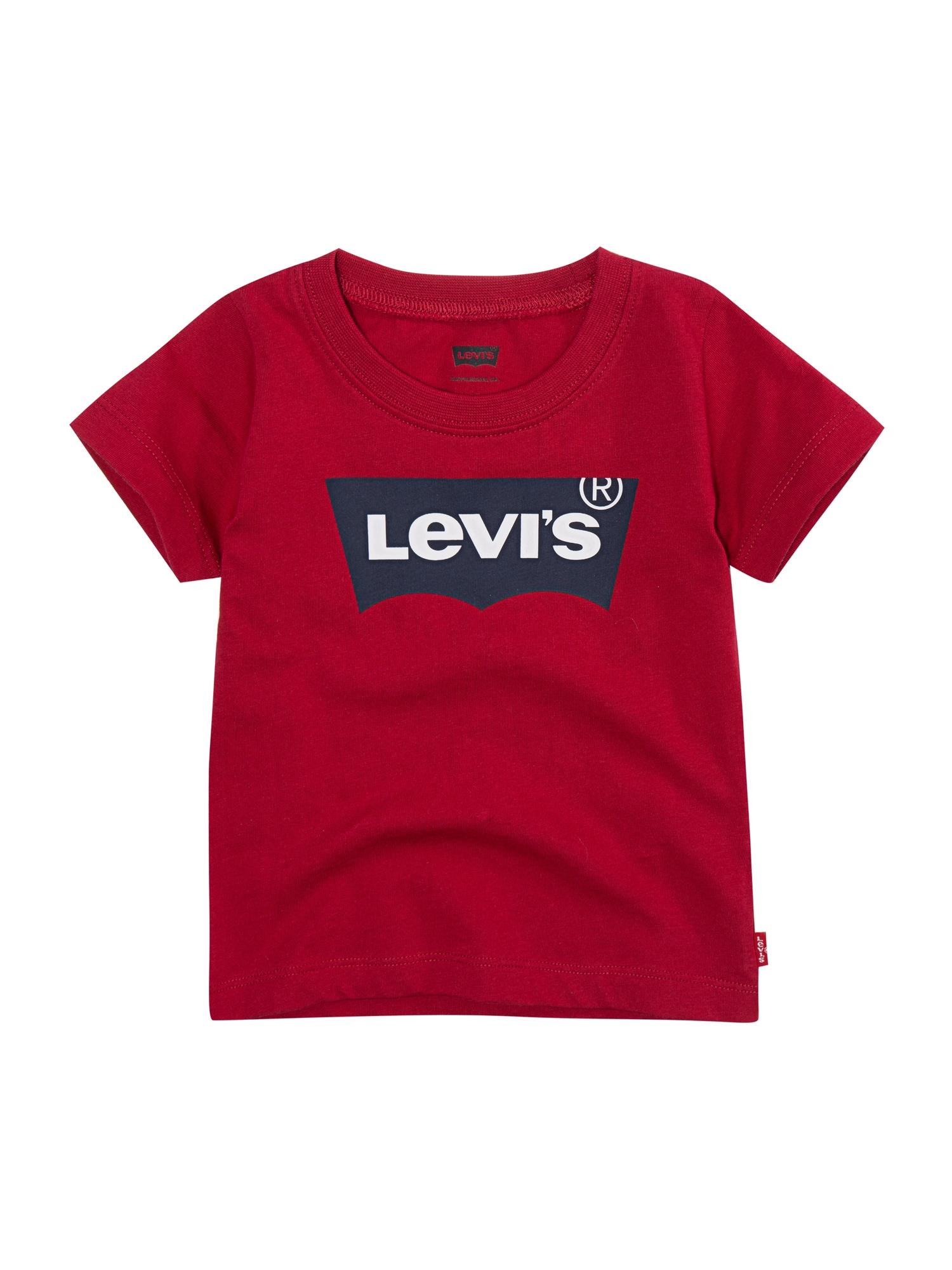LEVI'S Tričko 'Batwing'  červené