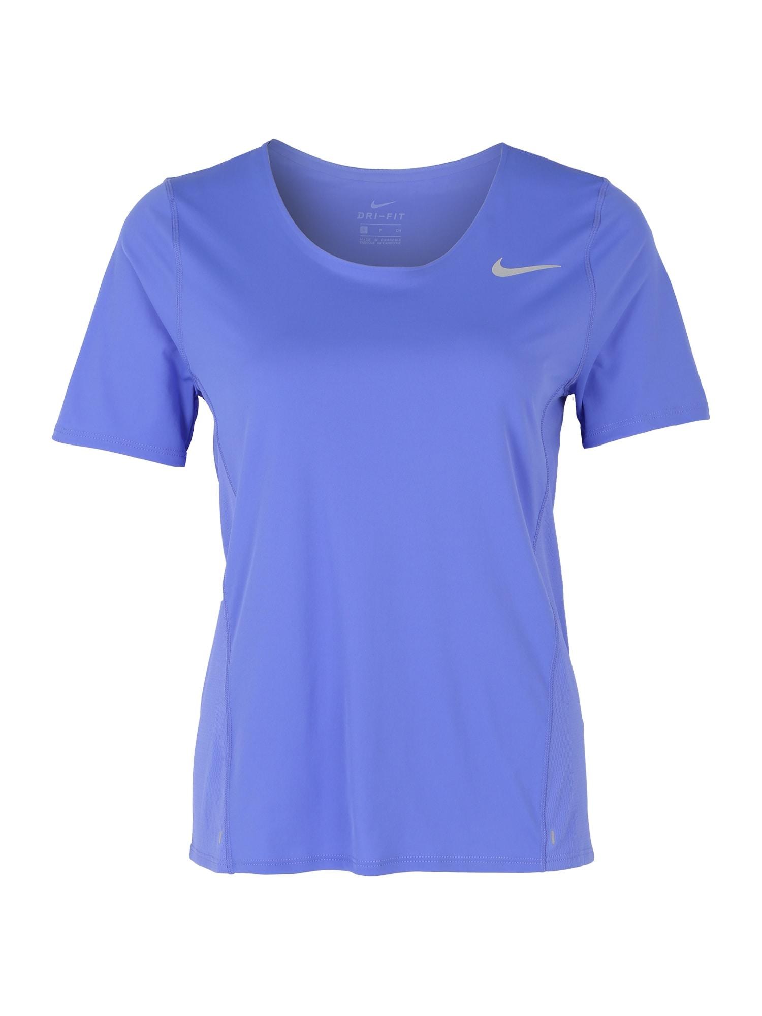 NIKE Sport-Shirt 'CITY SLEEK'  zafírová