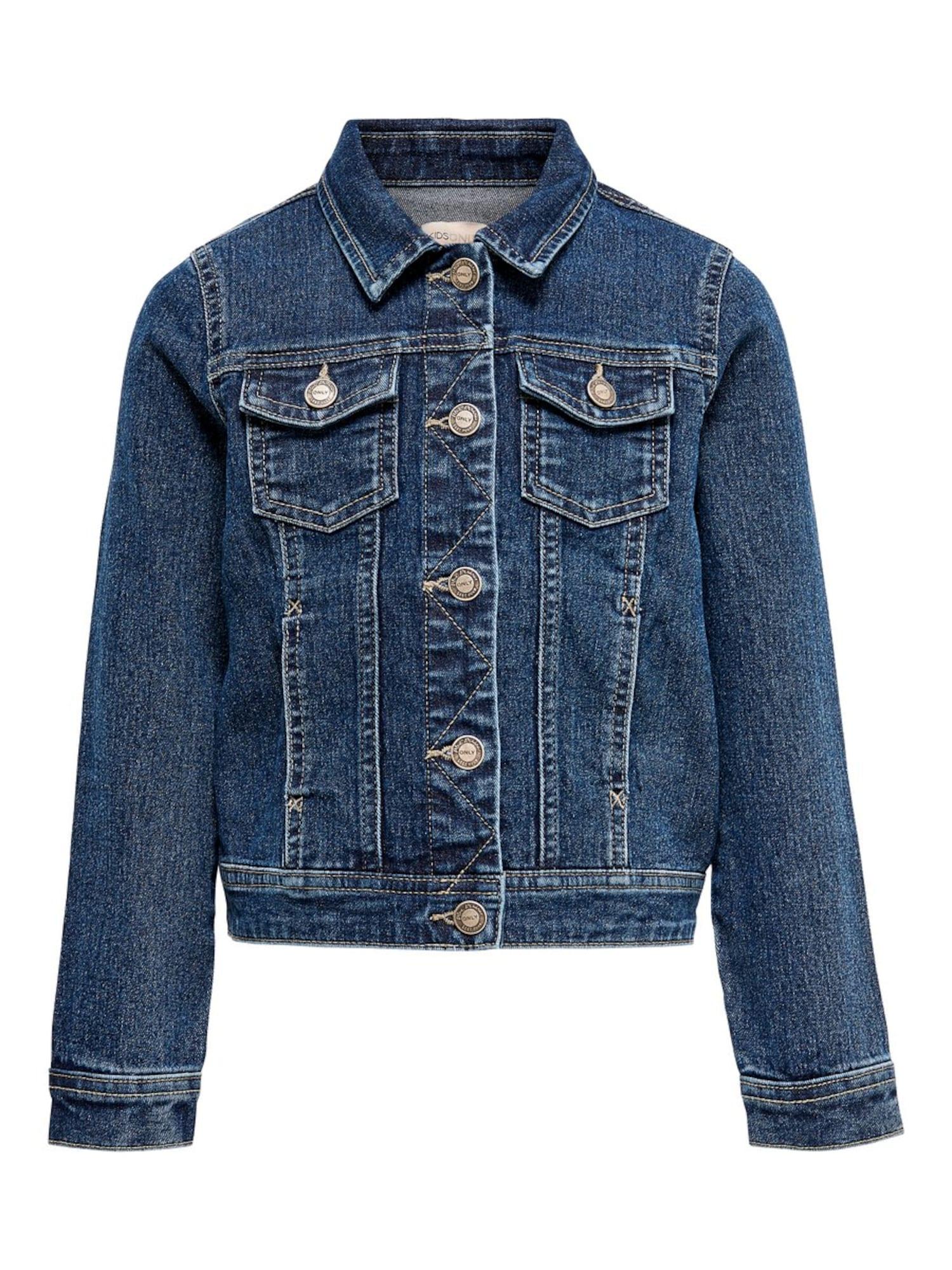 KIDS ONLY Demisezoninė striukė tamsiai (džinso) mėlyna