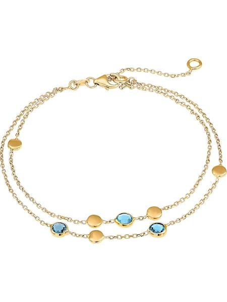 Armbaender - Armband '87482154' › Christ › pastellblau gold  - Onlineshop ABOUT YOU