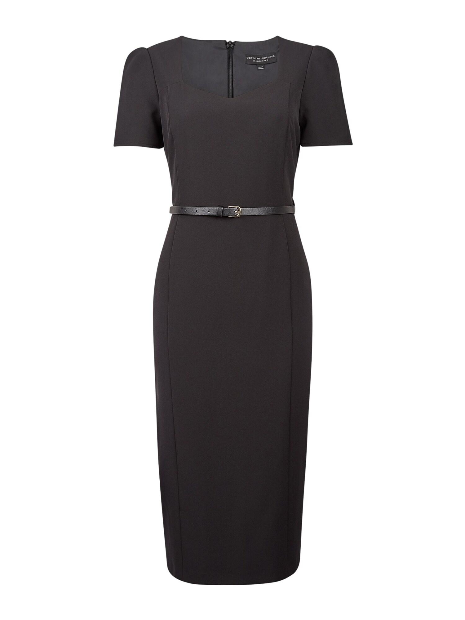 Dorothy Perkins Trumpa kokteilinė suknelė juoda